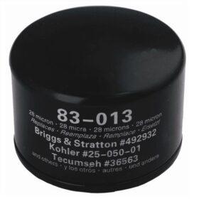 Oliefilter, erstatter B&S 492932, 492056, 695396, 5049, 5076, 4049, 4154