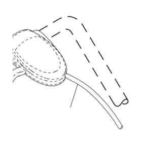 Kabel fremdrift Partner/McCulloch/Husqvarna 532 40 62-59